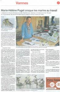 M.H Puget article presse mars 2016